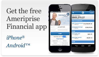 Get the free Ameriprise Financial app