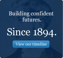 Building futures. Since 1894. View our timeline